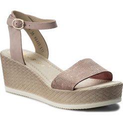 Sandały damskie: Sandały NESSI – 18366 Róż 11/St