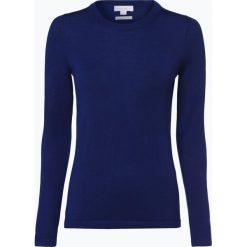 Brookshire - Damski sweter z wełny merino, niebieski. Niebieskie swetry klasyczne damskie brookshire, l, z dzianiny. Za 179,95 zł.