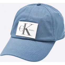 Calvin Klein Jeans - Czapka. Niebieskie czapki z daszkiem męskie marki Calvin Klein Jeans. W wyprzedaży za 159,90 zł.