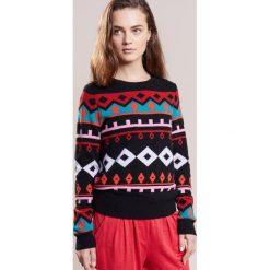 Swetry klasyczne damskie: FTC Cashmere NORWEGER Sweter black