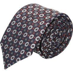 Krawat platinum granatowy classic 230. Niebieskie krawaty męskie Recman. Za 49,00 zł.