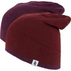Czapka męska CAM010z - bordowy - 4F. Czerwone czapki męskie 4f, na jesień, z materiału. Za 29,99 zł.