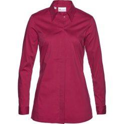 Długa bluzka ze stretchem bonprix jeżynowy. Fioletowe bluzki longsleeves marki DOMYOS, l, z bawełny. Za 74,99 zł.
