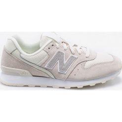 New Balance - Buty WR996LCB. Szare buty sportowe damskie New Balance, z gumy. W wyprzedaży za 269,90 zł.