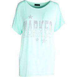 Miętowy T-shirt Good Marked. Zielone t-shirty damskie Born2be, l. Za 39,99 zł.