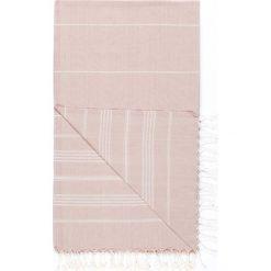 Chusta hammam w kolorze jasnoróżowym - 180 x 100 cm. Czarne chusty damskie marki Hamamtowels, z bawełny. W wyprzedaży za 43,95 zł.