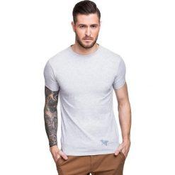 T-shirt NICODEMO TSPS000016. Szare t-shirty męskie Giacomo Conti, na lato, m, z bawełny. Za 79,00 zł.