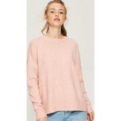 Sweter oversize - Różowy. Czerwone swetry oversize damskie Sinsay, l. Za 59,99 zł.