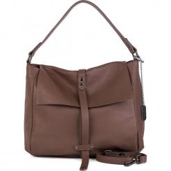 Skórzana torebka w kolorze szarobrązowym - 33 x 33 x 10 cm. Brązowe torebki klasyczne damskie marki ARTENGO, z materiału. W wyprzedaży za 347,95 zł.