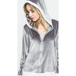 Dkny - Bluza piżamowa. Szare piżamy damskie marki DKNY, m, z dzianiny, z długim rękawem. W wyprzedaży za 139,90 zł.