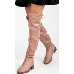 Buty zimowe damskie: Muszkieterki z wiązaniem JARDENA