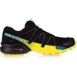 Salomon Buty męskie Speedcross 4 Black/Sulphur Spring r. 45 1/3 (39466). Czarne halówki męskie Salomon. Za 341,19 zł.