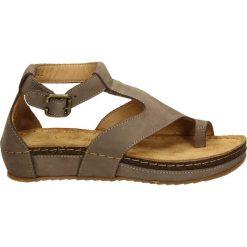 Sandały damskie: Sandały - 71042 TAUPE