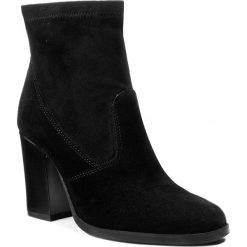 Botki LASOCKI - 70447-03 Czarny. Czarne buty zimowe damskie Lasocki, z materiału, na obcasie. W wyprzedaży za 120,00 zł.