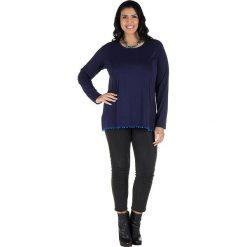 Odzież damska: Koszulka w kolorze granatowo-niebieskim