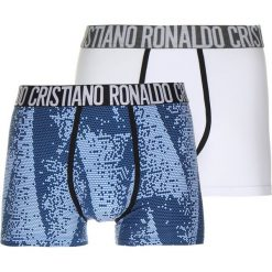 Cristiano Ronaldo CR7 TRUNK 2 PACK Panty blue/white. Niebieskie slipy męskie Cristiano Ronaldo CR7, z bawełny. Za 149,00 zł.