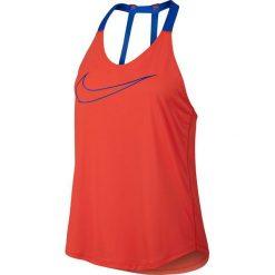 Nike Koszulka damska BRTHE TANK Elastka czerwona r. M (833766 852). Czerwone topy sportowe damskie Nike, m. Za 126,00 zł.