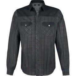 Rock Rebel by EMP Legendary Koszula czarny/czerwony/biały. Czarne koszule męskie na spinki marki Leonardo Carbone, s, z materiału, z długim rękawem. Za 199,90 zł.