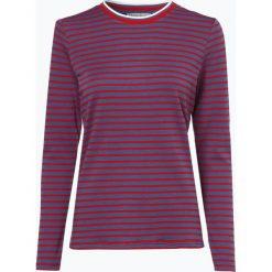 Marie Lund - Damska koszulka z długim rękawem, niebieski. Niebieskie t-shirty damskie Marie Lund, m, w paski, z bawełny. Za 89,95 zł.