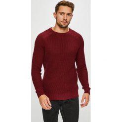 Dissident - Sweter. Niebieskie swetry klasyczne męskie marki Reserved, l, z okrągłym kołnierzem. Za 139,90 zł.