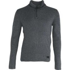 Szary Sweter Up Some More. Czarne golfy męskie marki Born2be, l, z aplikacjami, z dresówki. Za 64,99 zł.