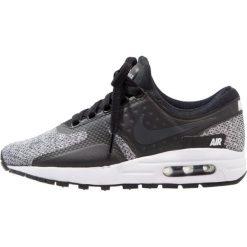 Nike Sportswear AIR MAX SE (GS) Tenisówki i Trampki black/anthracite/white. Czarne trampki chłopięce Nike Sportswear, z gumy. W wyprzedaży za 359,20 zł.