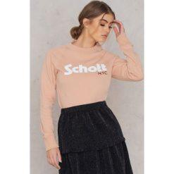 Bluzy rozpinane damskie: Schott Bluza Ginger 1W - Pink