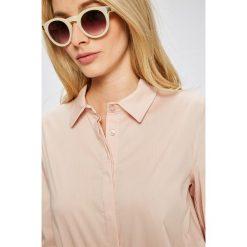 Answear - Koszula. Szare koszule damskie marki ANSWEAR, m, z bawełny, casualowe, z klasycznym kołnierzykiem, z długim rękawem. W wyprzedaży za 79,90 zł.