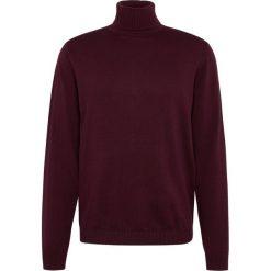 Finshley & Harding - Sweter męski – Pima-Cotton/Kaszmir, czerwony. Czarne swetry klasyczne męskie marki Finshley & Harding, w kratkę. Za 249,95 zł.