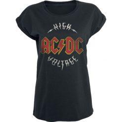 Bluzki asymetryczne: AC/DC High Voltage Koszulka damska czarny