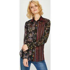 Desigual - Koszula. Szare koszule damskie marki Desigual, l, z tkaniny, casualowe, z długim rękawem. W wyprzedaży za 239,90 zł.