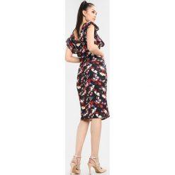 Sukienki hiszpanki: WAL G. FLORAL RUFFLE MIDI DRESS Sukienka z dżerseju multi