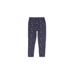 Getry dziewczęce długie. Niebieskie legginsy dziewczęce marki KIPSTA, z elastanu. Za 9,99 zł.