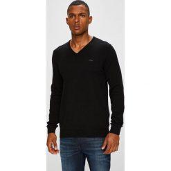 S. Oliver - Sweter. Czarne swetry klasyczne męskie S.Oliver, l, z bawełny. W wyprzedaży za 99,90 zł.