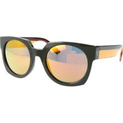 """Okulary przeciwsłoneczne damskie aviatory: Okulary przeciwsłoneczne """"0004/S 0IM/UW"""" w kolorze zielono-pomarańczowym"""