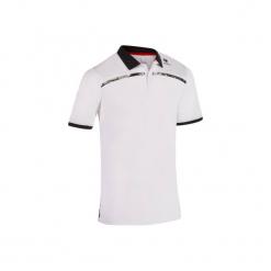Koszulka polo tenisowa Dry 900 męska. Białe koszulki polo marki ARTENGO, m, z elastanu. W wyprzedaży za 44,99 zł.