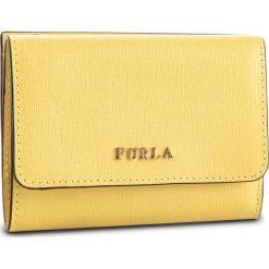 Mały Portfel Damski FURLA - Babylon 992590 P PR76 B30 Sole f. Żółte portfele damskie Furla, ze skóry. Za 550,00 zł.