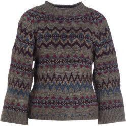 Swetry klasyczne damskie: Polo Ralph Lauren Sweter grey fairisle