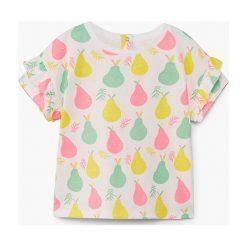 Mango Kids - Top dziecięcy Maxy 80-104 cm. Szare bluzki dziewczęce marki bonprix, m, melanż, z dzianiny, z kontrastowym kołnierzykiem. W wyprzedaży za 19,90 zł.