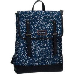 Plecak w kolorze niebieskim na laptopa - (S)29 x (W)38 x (G)9 cm. Niebieskie torby na laptopa marki Pepe Jeans, z materiału. W wyprzedaży za 149,95 zł.