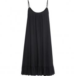 Sukienka na ramiączkach bonprix czarny. Czarne sukienki letnie bonprix, na ramiączkach. Za 99,99 zł.
