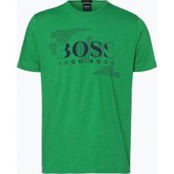 T-shirty męskie z nadrukiem: BOSS Athleisure – T-shirt męski – Tee 1, zielony
