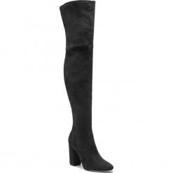 Muszkieterki ALDO - Maede 56874639 98. Czarne buty zimowe damskie ALDO, z materiału, na obcasie. W wyprzedaży za 329,00 zł.