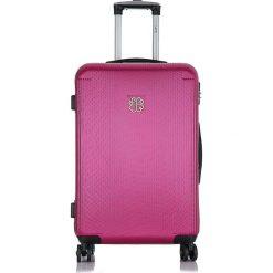 """Walizki: Walizka """"Ashley"""" w kolorze różowym – 48 x 69 x 29,5 cm"""