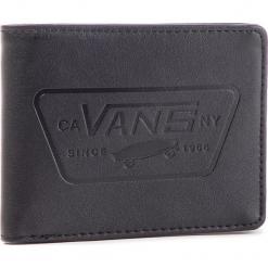 Duży Portfel Męski VANS - Full Patch Bifo VN0A31J9BLK Black. Czarne portfele męskie marki Vans, ze skóry ekologicznej. Za 119,00 zł.