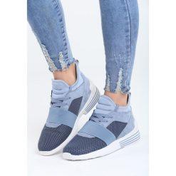 Niebieskie Buty Sportowe Meteor Blade. Niebieskie buty sportowe damskie marki Born2be, z materiału. Za 99,99 zł.