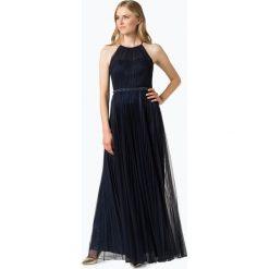 Laona - Damska sukienka wieczorowa, niebieski. Niebieskie sukienki balowe Laona, plisowane. Za 749,95 zł.
