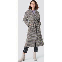 Gestuz Płaszcz w kratkę Welle - Grey,Multicolor. Szare płaszcze damskie Gestuz, w kratkę. Za 1619,95 zł.