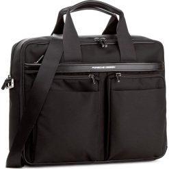 Torba na laptopa PORSCHE DESIGN - Lane 4090002571  Black 900. Czarne plecaki męskie marki Porsche Design, z materiału. W wyprzedaży za 1259,00 zł.