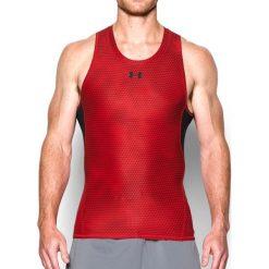 Under Armour Koszulka męska Printed Tank czerwona r. XL (1275056-600). Czerwone koszulki sportowe męskie Under Armour, m. Za 90,70 zł.